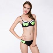 push-up-black-green-bikini